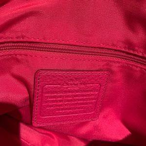 Coach Bags - Coach pink crossbody purse